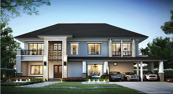บ้านสวยพร้อมเฟอร์นิเจอร์