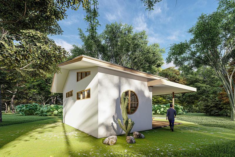 แบบบ้านในสวน