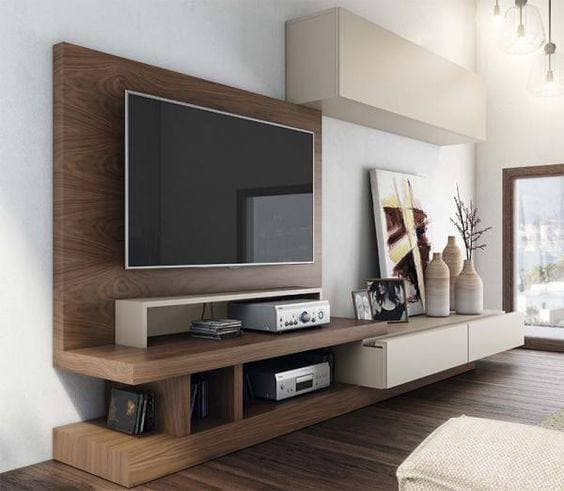 Materials for the built-in TV shelf